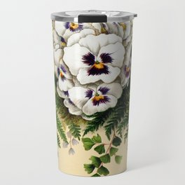 Pansy Easter Egg Travel Mug