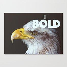 Bold Canvas Print