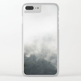 Fog on Arenal Clear iPhone Case