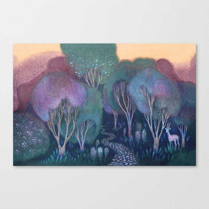 Into the Woods Leinwanddruck
