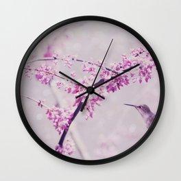 Pink Dreams    (Hummingbird) Wall Clock