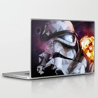 stormtrooper Laptop & iPad Skins featuring Stormtrooper by Ruveyda & Emre