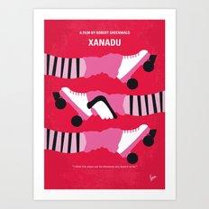 No516 My Xanadu minimal movie poster Art Print