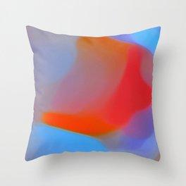 Diffuse colour Throw Pillow