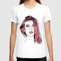 hayley williams T-shirts featuring Hayley Williams by Adora Chloe