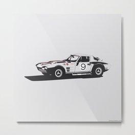 Chevrolette Grand Sport Metal Print