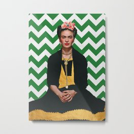 Frida Kahlo Photography I Metal Print
