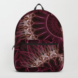 Ruby Mandala Backpack