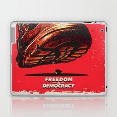 Freedom and Democracy Laptop & iPad Skin