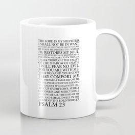 Psalm 23 The Lord Coffee Mug
