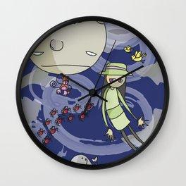 Dream Sky Wall Clock