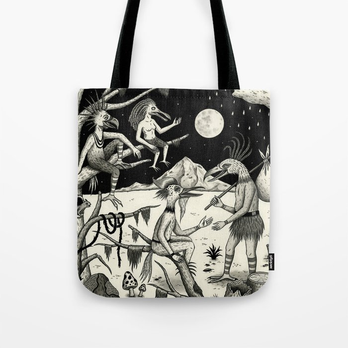 Welcomed Into the Fold By Other Strange Birds Tote Bag