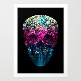 Blendeds IV Skull Art Print