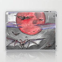 Bat Moon Laptop & iPad Skin