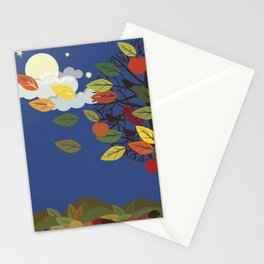 """Seasons"" Summer-Autumn Stationery Cards"