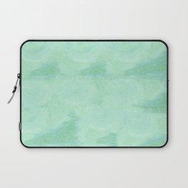 Blue Gray Cotton Fluff Laptop Sleeve