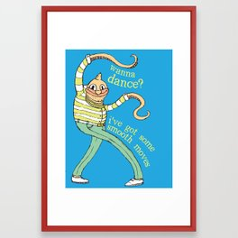 Wanna Dance? Framed Art Print