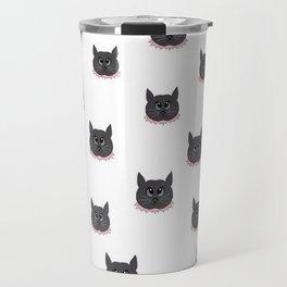 skittles the cat Travel Mug