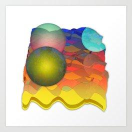 Sea Symphony Opus 101 Art Print