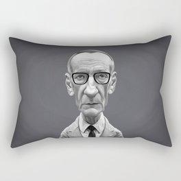 William Burroughs Rectangular Pillow