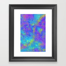 Psychedelic Mushrooms Effects Framed Art Print