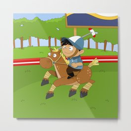 Non Olympic Sports: Polo Metal Print