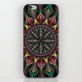 Super Star, fractal abstract iPhone Skin