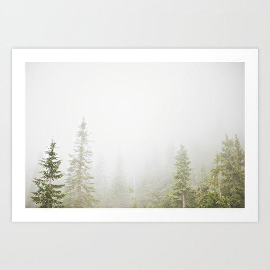 GROUSE MOUNTAIN, BC Art Print