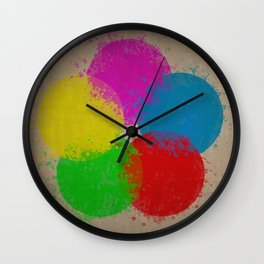Krylon (Aged) Wall Clock