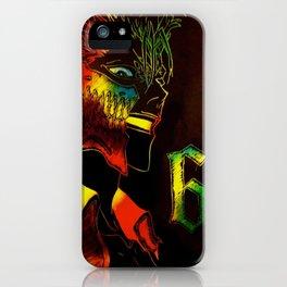 Grimmjow Jaegerjaquez iPhone Case