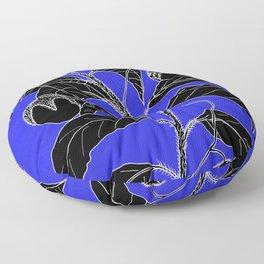 Western Nightshade (also know as Bush Tomato ) - Solanum chippendolei or Solanum coactilferum Floor Pillow