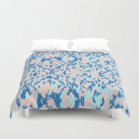 watercolour Duvet Covers featuring Watercolour by requetetrend
