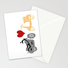 Motorcycle and vespa Stationery Cards