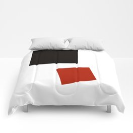 Geometric Abstract Malevic #2 Comforters