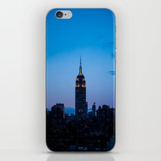 Empire State Building at Sunset iPhone & iPod Skin