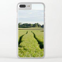 Midsummer Field Clear iPhone Case