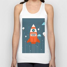 Make  it by yoursefl Unisex Tank Top
