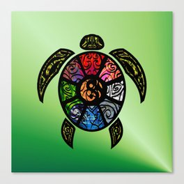Bagua Turtle Canvas Print