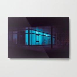 Fish tank / Bladerunner Vibes Metal Print