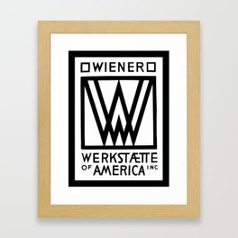 Wiener Werkstaette of America Framed Art Print