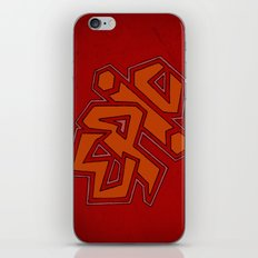 EPiC on red iPhone & iPod Skin