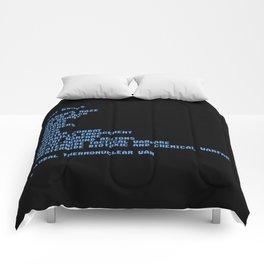 Thermonuclear war Comforters