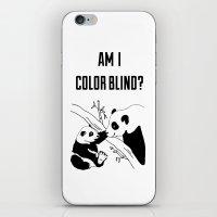 pandas iPhone & iPod Skins featuring Pandas by Raaz Herzberg