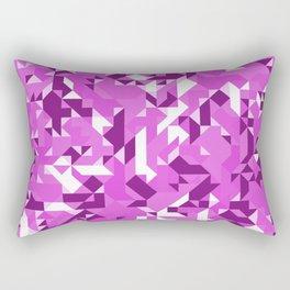 Off-Beat Geometric Shapes V.10 Rectangular Pillow