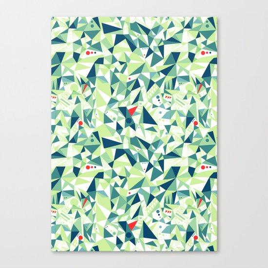 Moment Pattern Canvas Print