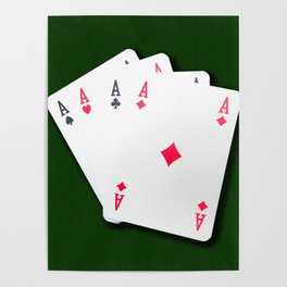 Poker of Aces Poster