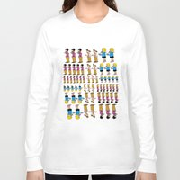 greg guillemin Long Sleeve T-shirts featuring Greg + 2012 by Reid