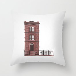 The Letter L Throw Pillow