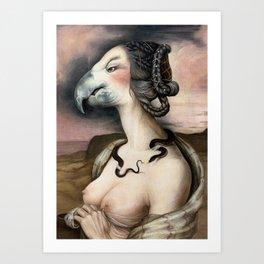 Noblesse Oblige Art Print