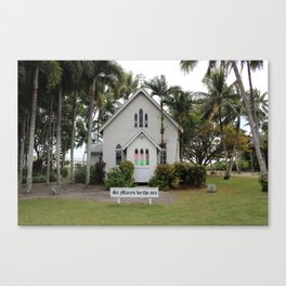 St Mary's by the Sea Canvas Print